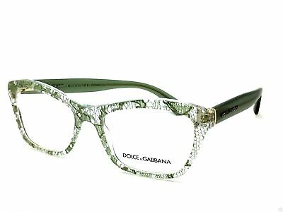 Dolce & Gabbana two tone green  DG 3198 2855 52MM  Sage Lace Authentic Frames