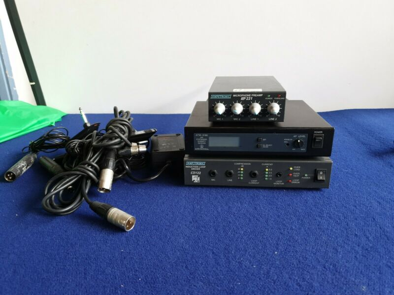 Ampetronic Loop Driver ILD122 Micro Preamp MP211 ,Audio Technics ATW R160