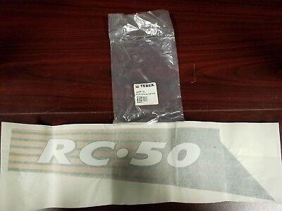 Genuine Terexasv Rc50 Loader Identification Decal342030-238