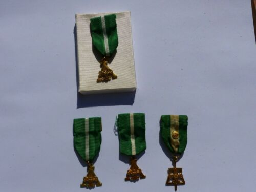 Group of 4 Vintage Scouters Training & Scouters Key Medals Boy Scout BSA Awards
