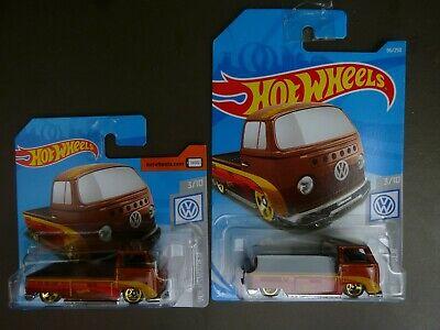2 x Unopened Hot Wheels Volkswagen T2 Pickups