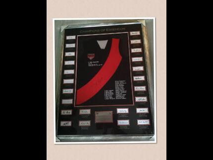 AFL Champions of Essendon Framed and signed by Dick Reynolds LE Springvale Greater Dandenong Preview