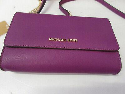 Michael Kors Jet Set Travel Designer Handtasche Pink/Violett aus USA NEU