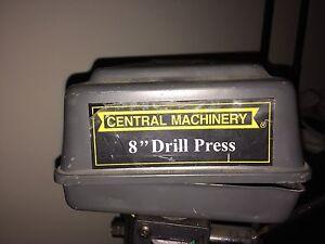"""8"""" 5 speed drill press"""