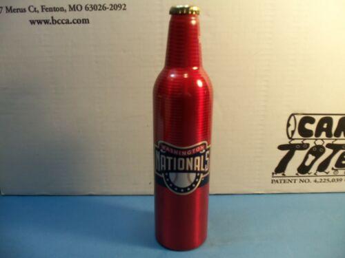 2007 Budweiser Washington Nationals 16 oz aluminium bottle  # 500924