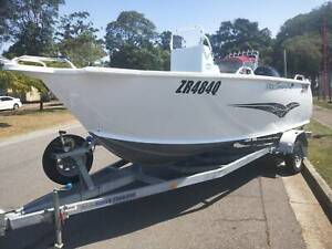 2017 TABS TERRITORY PRO 5400 W/ TOHATSU (MADE BY HONDA)115HP 4 STROKE Clontarf Redcliffe Area Preview
