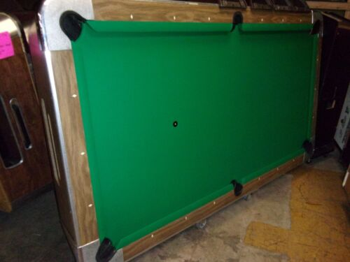 Valley 8 ft.  coin op pool table  #PT264