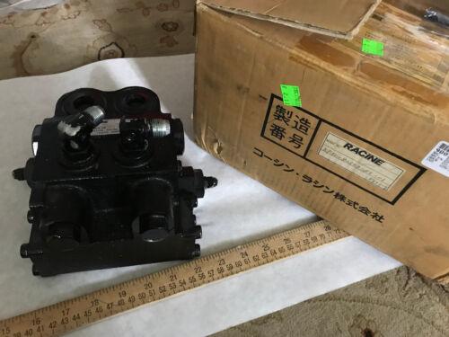 New Racine Kp9v-80503-110-01 Hydraulic Valve Koshin-racine Valve,ox01,0x01,eo
