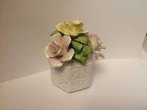 Small porcelain flower vase.