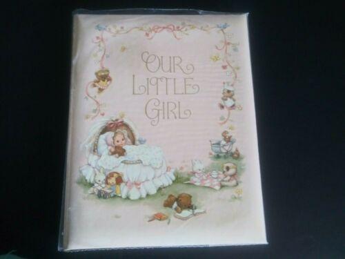 Unused Hallmark Cute Our Little Girl Baby Keepsake Memory Album Book