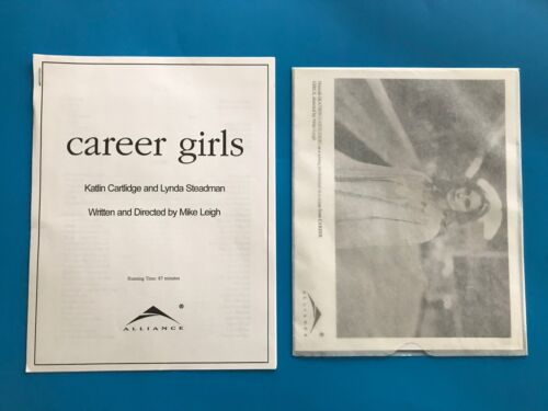 Career Girls (1997) Original Promotional Media Press Kit