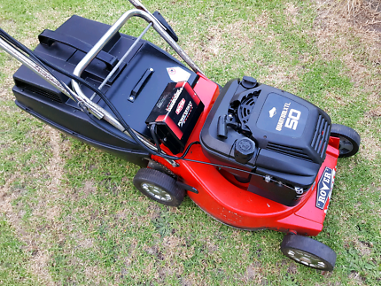 Rover Lawn Mower - Electric Start