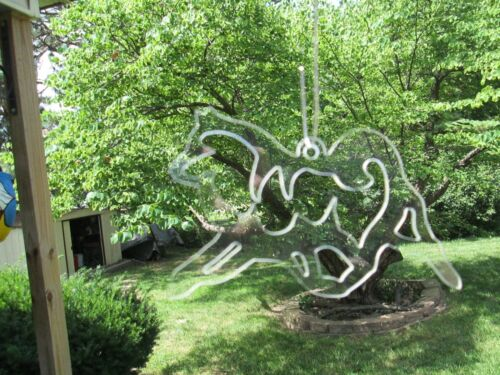 SAMOYED Crystal Clear  Dog  Hanging  Patio / Pendant / Garden NEW!