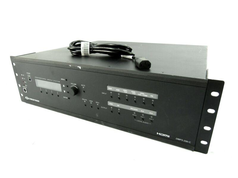 Crestron DMPS-200-C HDMI Digital Media Switcher