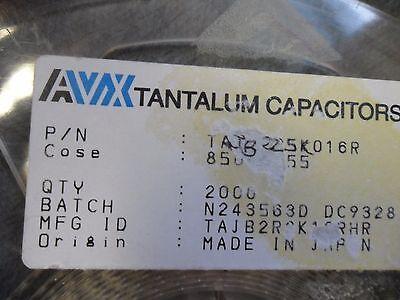 100 Per Lot Capacitor Tantalum 2.2uf 16v 10 Smd B-case