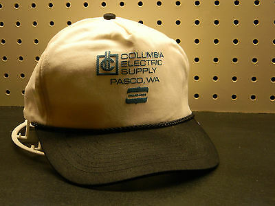 CAP COLUMBIA ELECTRIC SUPPLY PASCO WA HIGH QUALITY EMBROIDERED LOGO CAP