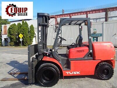 2008 Tusk 10000 Lbs Boom Truck Forklift Side Shift Fork Positioners