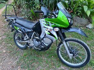 2008 Kawasaki KLR650 road/trail, adventure bike