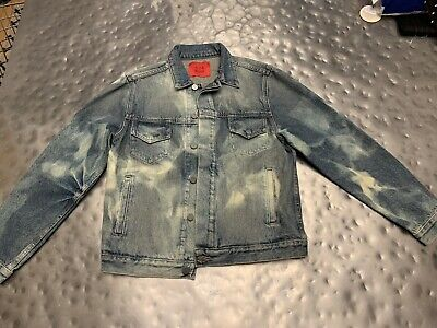 Armes x 424 on Fairfax Denim Trucker Jacket in Men's XS New with Tags