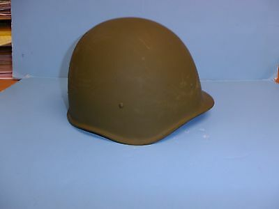 b3882 Post WW2 Russian Model M40SSH Steel Helmet with liner & chin strap 1946