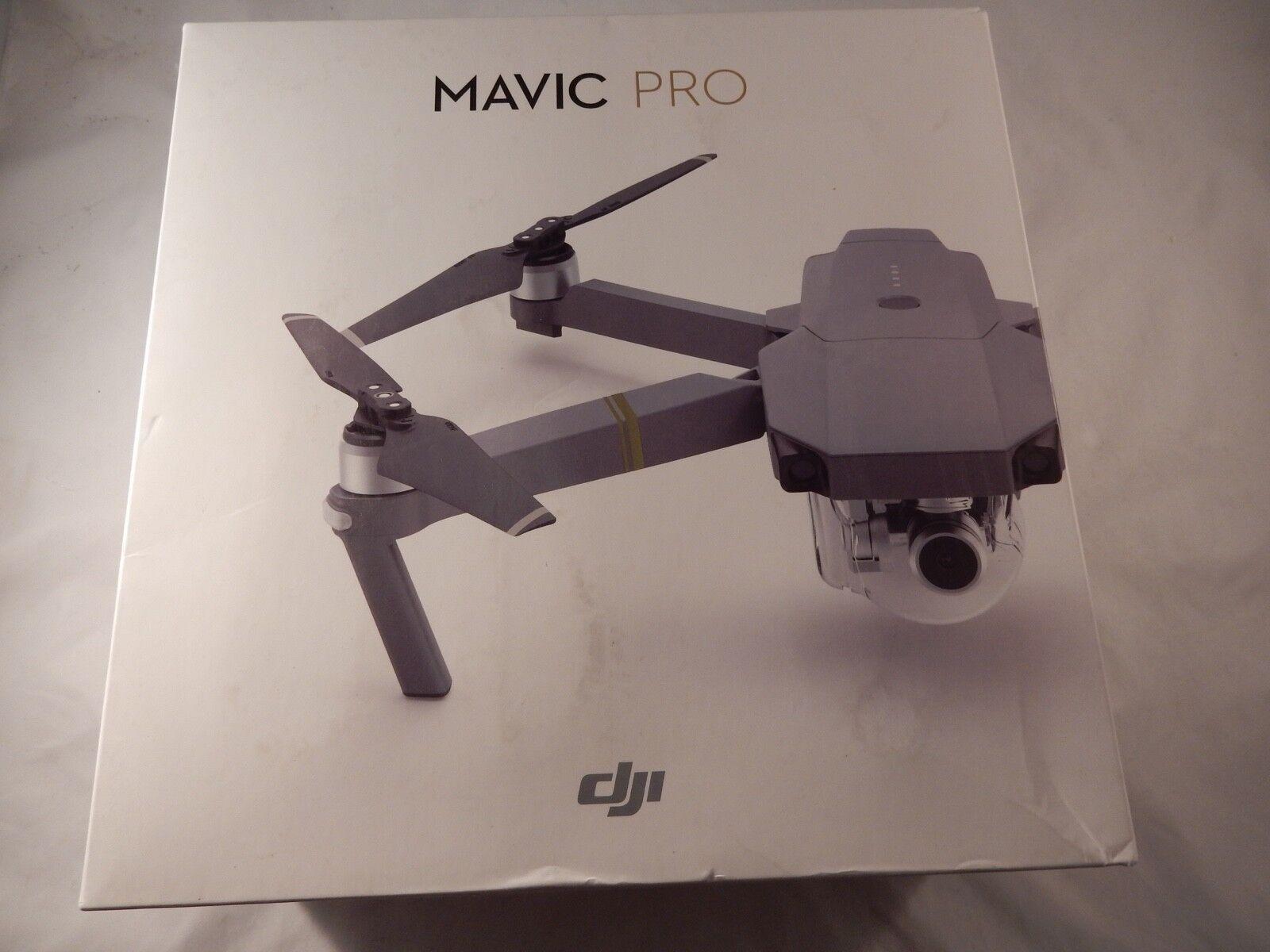 DJI Mavic Pro Quadcopter Drone 4K Stabilized Camera Grey + REMOTE (NEW) S703