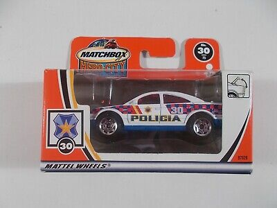 Matchbox 1/64 Hero City Police Car