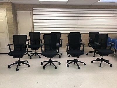 - HAWORTH ZODY task office chair Fully loaded & Adjustable Arms (4D)-Black Frame
