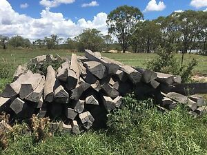 Timber Split Posts For Sale Allora Southern Downs Preview