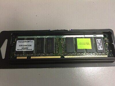 Valueram Dimm Memory - KVR133X64C3/256, Kingston ValueRAM PC133 168-Pin DIMM Memory Midule 256MB, New