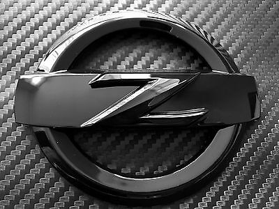 370Z REAR HIGH GLOSS BLACK Z LOGO EMBLEM BADGE 370 Z FAIRLADY BODYKIT KIT