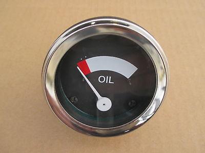 Oil Pressure Gauge For Ih International Farmall Super H Hv M M-ta Mv