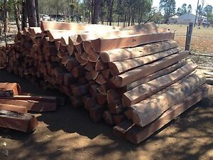 Ironbark split fence posts Wondai South Burnett Area Preview