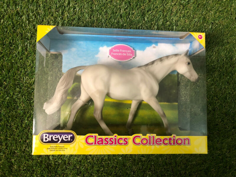 Breyer Classic Collection Grey Selle Francis Horse Stallion #941 New In Box