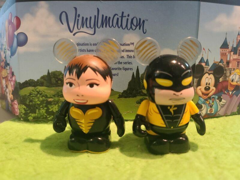 "DISNEY Vinylmation 3"" Park Set 1 Marvel Avengers Wasp and Yellow Jacket"