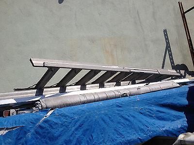 Light Weight Tall Aluminum Folding Ladder Roofing Paint Jobs Warehouse Home R