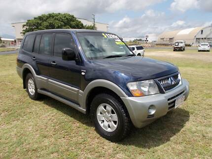 2005 Mitsubishi Pajero GLS 7 Seater Wagon Parramatta Park Cairns City Preview