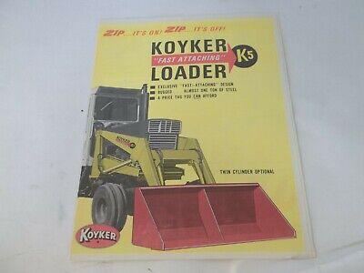 Koyker Fast Attaching K5 Loader Sales Brochure