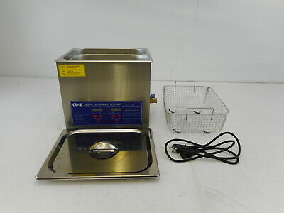 CO-Z TRTV1847 - Professional 10L Ultrasonic Cleaner with Timer