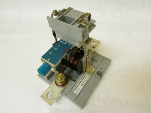 Electroba AG CH 5400, MAS-2, 40-60-80 Amps DC Overcurrent Protection Relay