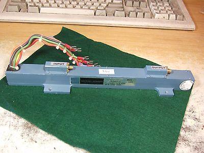 Watkins Johnson Wj-3502-1 4.0 - 8.0 Hp 1952-0035 Traveling Wave Tube - As Is