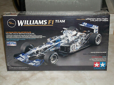 Tamiya 1/20 Scale Williams F1 BMW FW24 Italian GP 2002 Factory Sealed