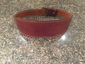 Workout / Weightlifting Belt New & Leather