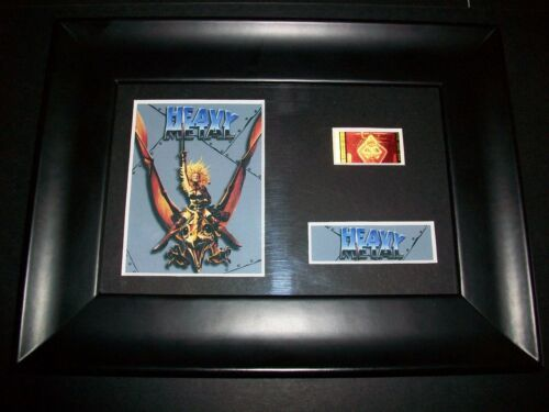 HEAVY METAL Framed Movie Film Cell Memorabilia Compliments poster dvd vhs
