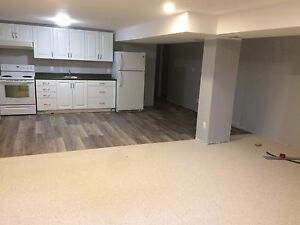 Basement apartment in the West end of Kingston