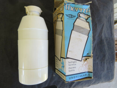 REG WATER BOTTLE THERMIC NOS ROAD TOURING RACING VINTAGE ANTIQUE VERY OLD TA