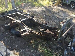 Land Rover series 3 swb chassis Ninderry Maroochydore Area Preview