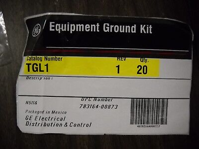 2 Pcs Ge General Electric Gej-4660 Tgl1 Equipment Ground Bar Kit 7 Hole Nos