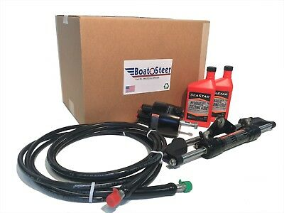 SeaStar Pro Hydraulic Steering Kit HK7520A-3 20ft Hose - Remanufactured
