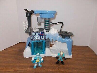 Imaginext Batman - Mr Freeze Headquarters Lair Play Set & Figures Playset