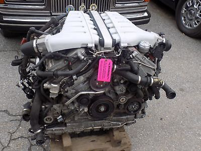 BENTLEY FLYING SPUR ENGINE V-12 6.0 TWIN TURBO 40K MILES MUST HAVE CORE